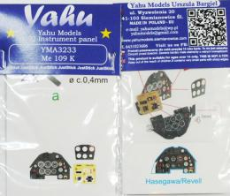 YAHU 1/32 Instrument panel for Me-109 K for HAS