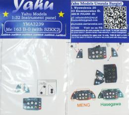 YAHU 1/32 Instrument panel for Me-163B-0 for HAS