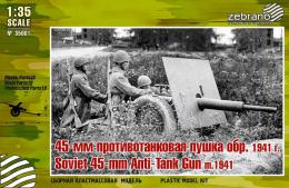 ZEBRANO 1/35 Soviet 45mm AT  m1941