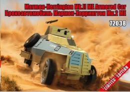 ZEBRANO 1/72 Marmon-Herrington Mk.II ME. Armoded car
