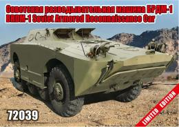 ZEBRANO 1/72 BRDM-1 Soviet Armoured Recon car