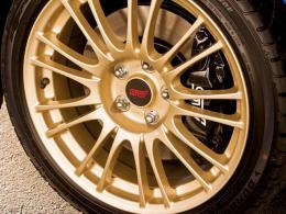 ZERO PAINTS  1041-WHEELS Subaru Gold for Wheels-
