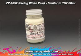 ZERO PAINTS  1052 Racing White Paint Similar to TS7