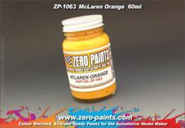 ZERO PAINTS  1063 Mclaren Orange 60ml