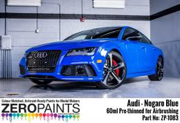 ZERO PAINTS 1083-Audi RS - NOGARO Blue Paint 60ml