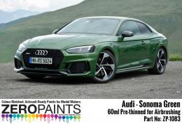 ZERO PAINTS 1083-Audi RS -SONOMA Green Paint 60ml