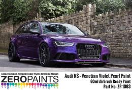 ZERO PAINTS 1083-Audi RS -Venetian VIOLET Pearl Paint 60ml