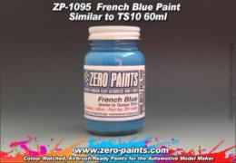 ZERO PAINTS  1095 French Blue Similar to TS10  60ml