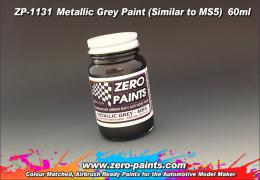 ZERO PAINTS  1131 Color Metallic Grey Similar to MS