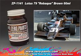 ZERO PAINTS  1141 Lotous 79 Rebaque Brown  60ml