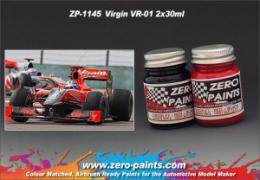 ZERO PAINTS  1145 Virgin VR-01 (Marussia f1 Team) 2