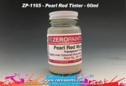 ZERO PAINTS  1165 Pearl Red Mica Transparent Tinter