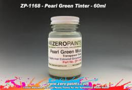 ZERO PAINTS  1168 Pearl Green Mica Transparent Tint