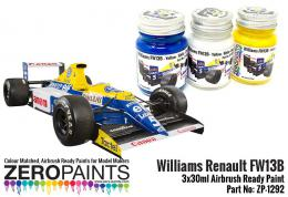 ZERO PAINTS 1292 Williams Renault FW13B 3x30ml