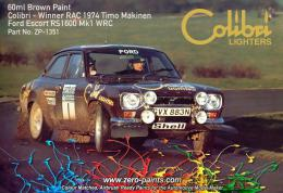 ZERO PAINTS 1351 Brown Ford Escort MKI RS1 60ml