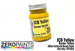 ZERO PAINTS  1354 JCB Yellow ( Darker) 60ml