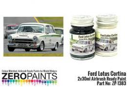 ZERO PAINTS  1383 Lotus Cortina Paint Set 2x30ml