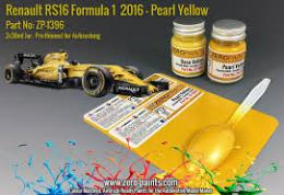 ZERO PAINTS  1396 Renault RS16 Formula 1 2016 Pearl