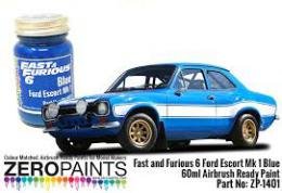ZERO PAINTS  1401 Fast and Furious 6Ford Escort Mk.