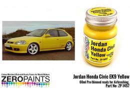 ZERO PAINTS 1457 Jordan Honda Civic Yellow 60ml