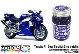 ZERO PAINTS  1460 R-1-R6 Deep Purplish Blue  60ml