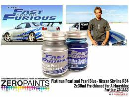 ZERO PAINTS  1463 Fast and Furious Platinum Nissan
