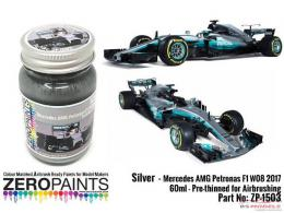 ZERO PAINTS  1503 Mercedes AMG Petronas F1 WO8 2017