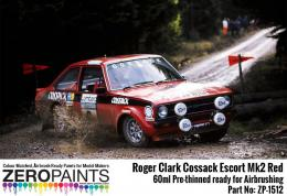 ZERO PAINTS 1512 Roger Clark Cossack Escort Mk.2 Red 60ml