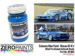 ZERO PAINTS  1517 Calsonic Blue Paint  60ml