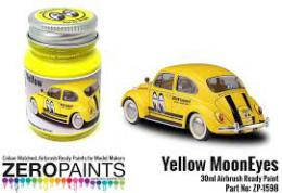 ZERO PAINTS  1598 Mooneyes (Moon) Yellow  30ml
