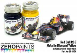 ZERO PAINTS 1604 Red Bull RB6 Metallic Blue 2x30ml
