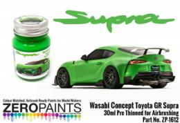 ZERO PAINTS 1612 Toyota GR Supra Wasabi Concept Green 30ml