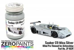 ZERO PAINTS 1634 Silver Mica Sauber C9 Le Mans 1989 60 ml