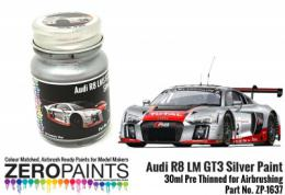 ZERO PAINTS 1637 Audi R8 LM GT3 Silver Paint 30ml