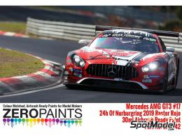ZERO PAINTS 1642 Mercedes AMG GT3 17 ADAC Nurburgring 30ml
