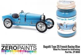 ZERO PAINTS 1650 Bugatti Type 35 French Racing Blue 60ml