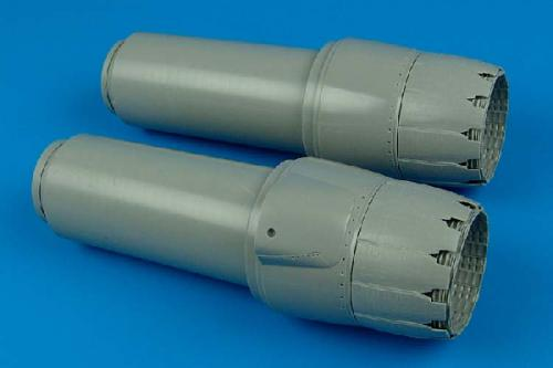 AIRES 1/32 F-14B/D Tomcat exhaust nozzles (for Tamiya)