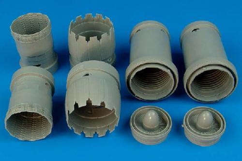 AIRES 1/32 F-15K Slam Eagle exhaust nozzle (for Tamiya)
