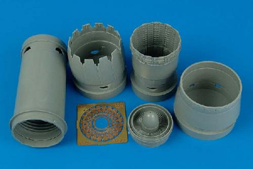 AIRES 1/32 F-16CG/CJ Block 40/50 exhaust nozzles (for Academy)
