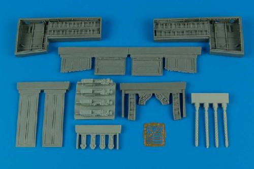 AIRES 1/32 P-51B/C Mustang gun bay  (for Trumpeter)