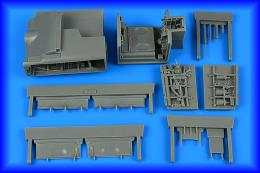 AIRES 1/48 Sea Harrier FRS.AIRES 1/FA.2 wheel bay for KIN