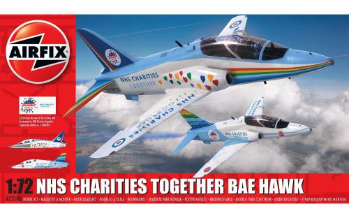 AIRFIX 1/72 NHS Charities Together Hawk
