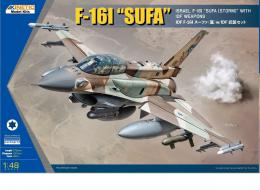 KINETIC 1/48 F-16I with IDF Weapon