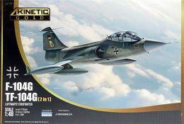 KINETIC 1/48 TF-104G Starfighter German Airforce