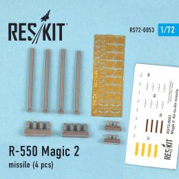 RESKIT 1/72 MAGIC 2 missile 4 pcs
