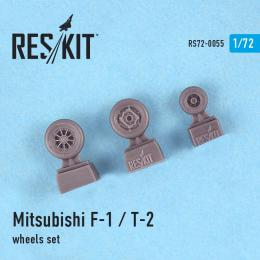 RESKIT 1/72 Mitsubishi F-1 Wheels set for ITA