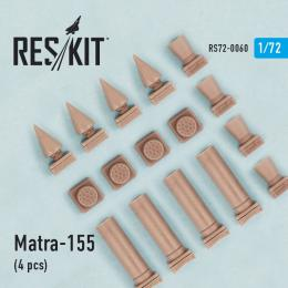 RESKIT 1/72 MATRA-155 Rocket Launcher 4 pcs