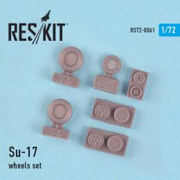 RESKIT 1/72 Su-17 Wheels set for MSVIT