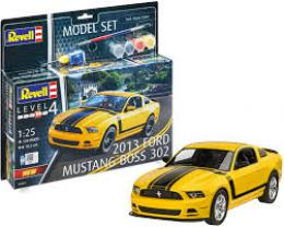 REVELL 1/25 Model Set 2013 Ford Mustang Boss