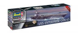 REVELL 1/400 USS Enterprise CVN-65 Platinum Edition